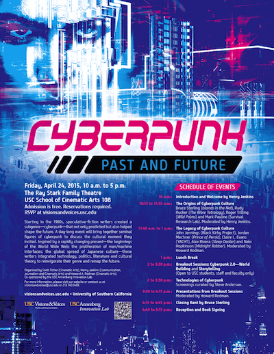 USC Cyberpunk: Past and Future Conference